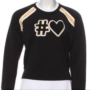 Maje Black Sweatshirt